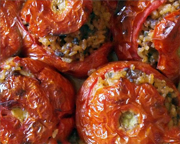 Гемиста – пълнени домати с ориз по гръцки