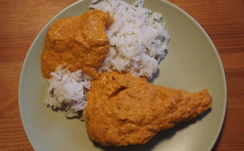 Пиле с ориз по индийски