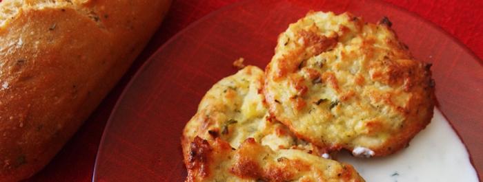 Картофени кюфтета със сирене и кашкавал