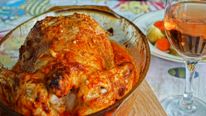 Пиле със сирене на фурна (по рецепта на Мила и Тошко)