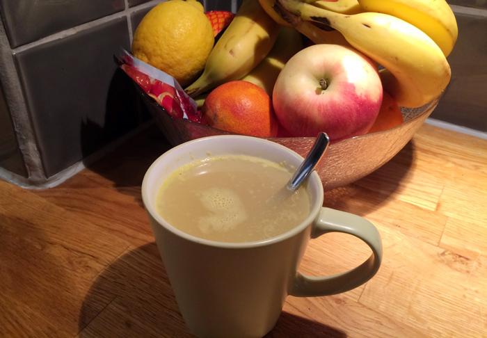 Джинджифилов чай при настинка и грип
