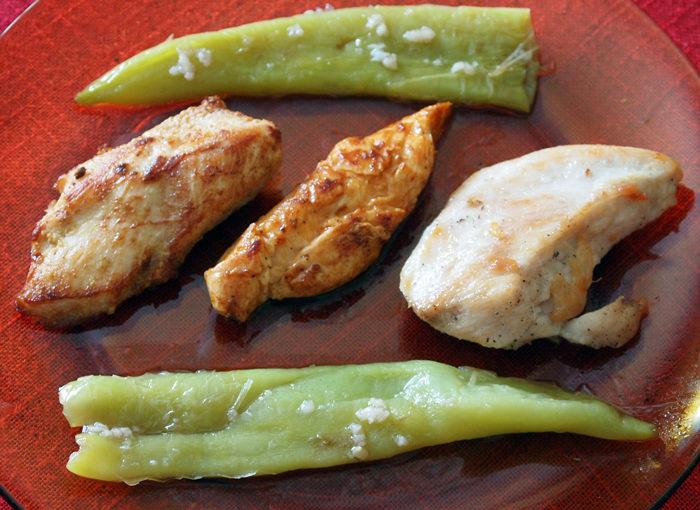 Пържени пилешки филенца
