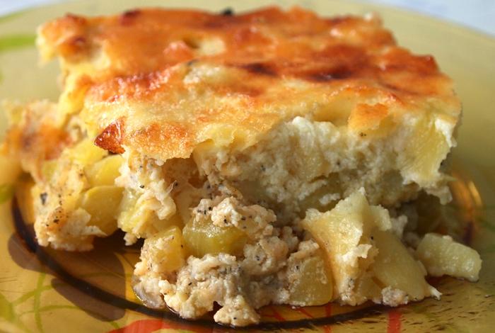 Мусака с тиквички и картофи