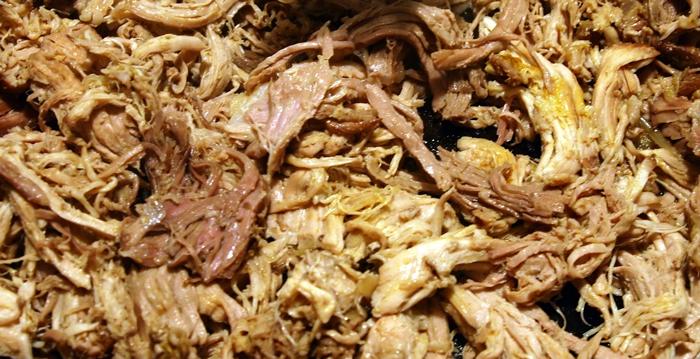 Дърпано свинско месо