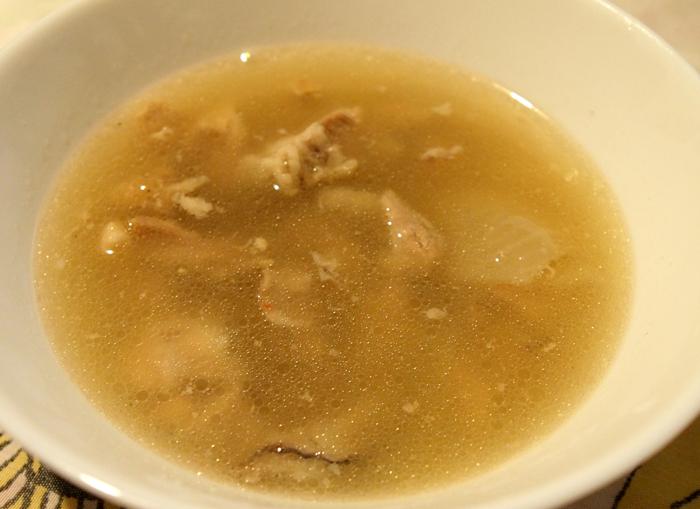 Зимна супа с месо