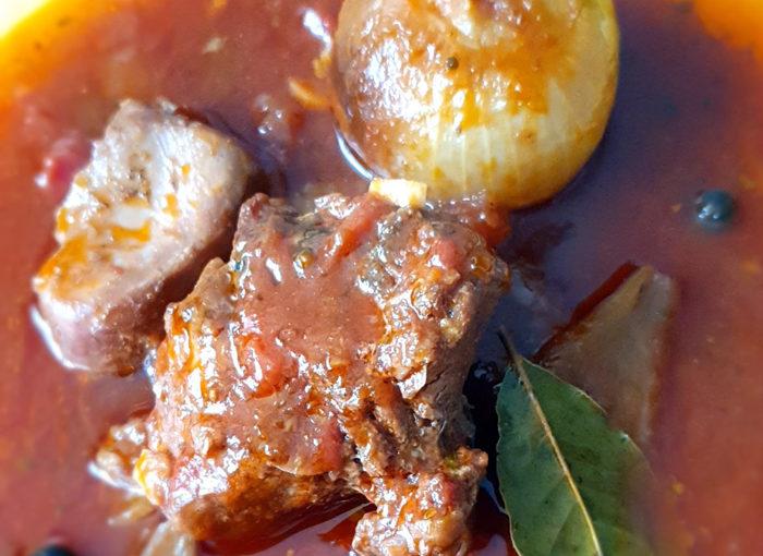Яхния от заек по албански