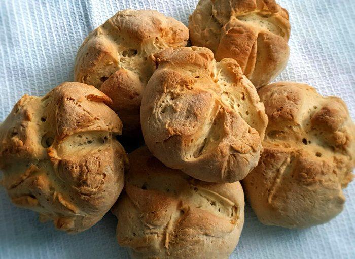 Бързи хлебчета тип земел